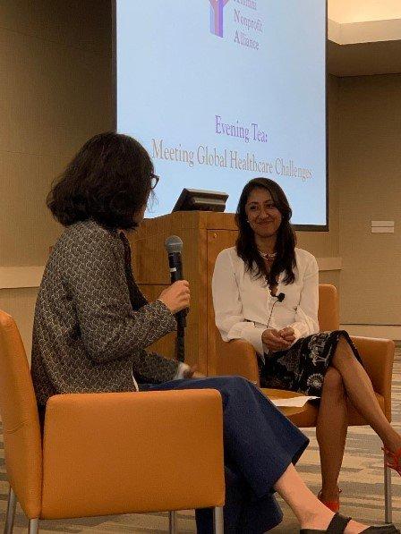YANA Evening Tea   Meeting Global Healthcare Challenges